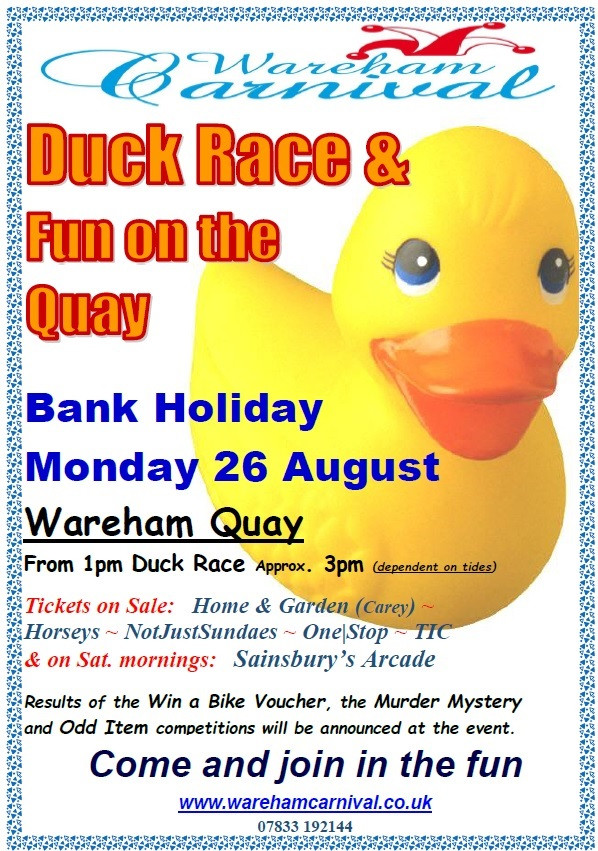 Aug Duck Race